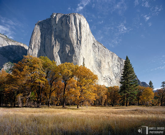 El Capitan, Autumn Morning