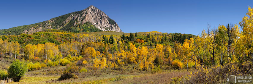 Marcellina Mountain, Autumn Ranchland