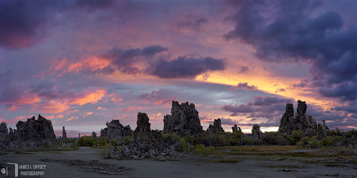 Sunrise over Tufa