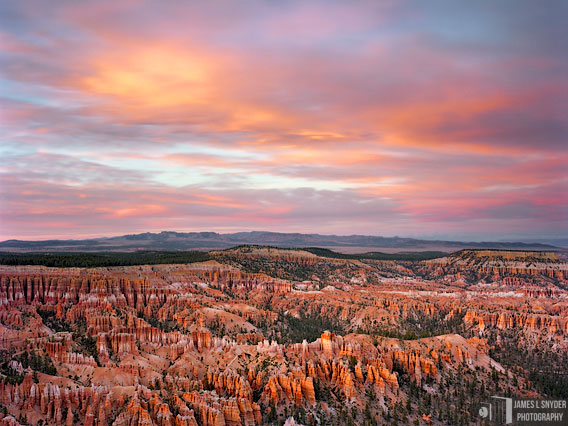Bryce Point Sunset