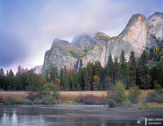 Bridalveil Meadow, Autumn Evening